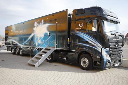 Seit 2016 ist das InnovationLab des Elektrogroßhändlers Sonepar europaweit unterwegs, um Unternehmen für die Trendthemen wie Industrie 4.0 zu sensibilisieren. Bild: Sonepar Deutschland GmbH