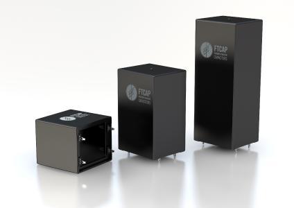 Die kompakten Joule Cap-Folienkondensatoren zeichnen Sie sich durch geringe Induktivität und hohe Stromtragfähigkeit aus