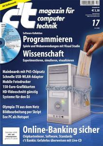 c't-Ausgabe 17/2008