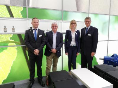 Ausweitung des Serviceangebotes: Vertreter der CP Pumpen GmbH und der SMW Service und Pumpentechnik GmbH