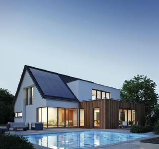 SunPower im Haus