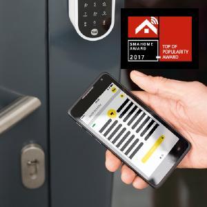 Die intelligente ENTR® Schließlösung: komfortabel, sicher und leicht zu installieren, Foto: ASSA ABLOY Sicherheitstechnik GmbH