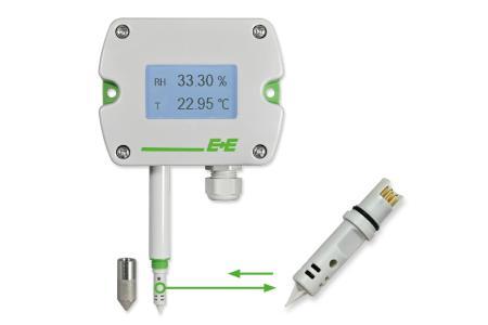 EE212 Feuchte- und Temperatursensor mit austauschbarem Sensormodul