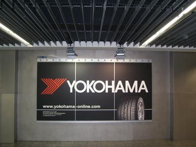 YOKOHAMA Airport Werbung