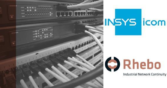 Partnerschaft INSYS icom und Rhebo