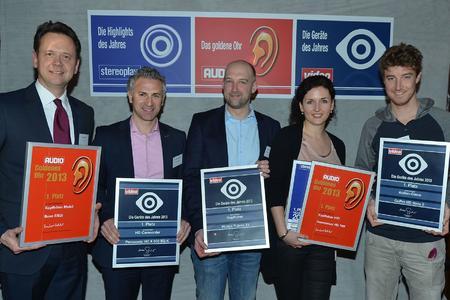Verleihung Gerät des Jahres 2013 von AUDIO stereoplay und video in München