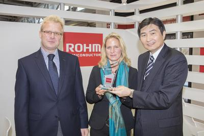 "ROHM zeichnet Micronetics als ""Best Performing Distributor in Germany"" aus"