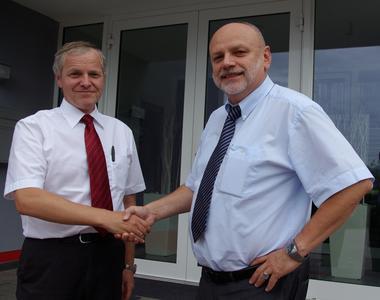 Anton Kramm (li.), VALIAL Solution GmbH und Herbert Kindermann, jCOM1 AG