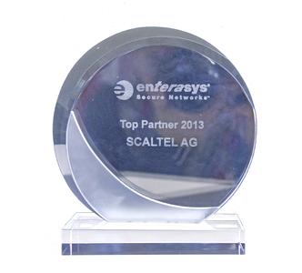 "Award ""Enterasys Top Partner 2013"""