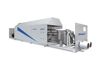 New dimension: Infrared dryer for 3.500 kg/h PET bottle flakes realized