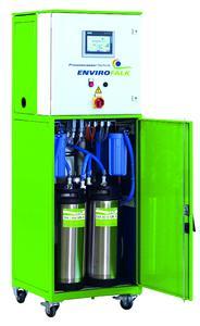 EnviroFALK Wasseraufbereitungsanlage zur Versorgung von klinischen Analysegeräten