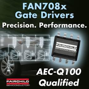 Gate-Treiber von Fairchild Semiconductor ermöglichen höhere Treibstoffeffizienz in Automobil-Anwendungen