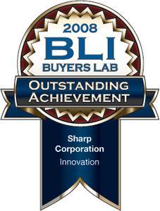 """Sharp gewinnt """"Outstanding Achievement Award"""" von BLI"""