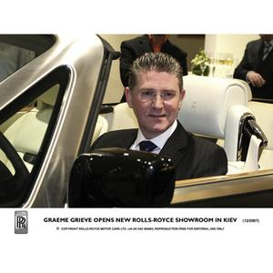 Graeme Grieve opens new Rolls-Royce Showroom in Kiev (12/2007)