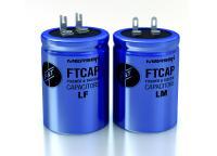FTCAP (Teil des Mersen-Konzerns) bietet eine große Bandbreite von Aluminium-Elektrolytkondensatoren mit Lötfahnen, wobei zahlreiche Anschluss-Variationen verfügbar sind