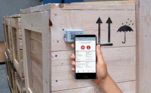 ASPION G-Log App mit NFC für iPhone iOS