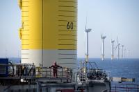 Foundation works for Trianel Windpark Borkum II completed