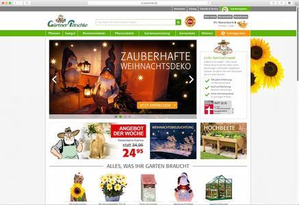 Gärtner Pötschke Homepage