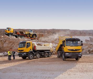 Renault Kerax Baustellenfahrzeuge