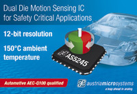 austriamicrosystems' presents AS5245, a fully redundant motion sensing IC for the toughest automotive safety requirements