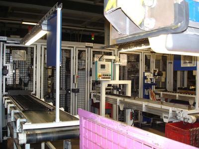 Intelligente Verbindung: SFC und Produktionsstrang kommunizieren bei der Lenkerproduktion von ThyssenKrupp Umformtechnik