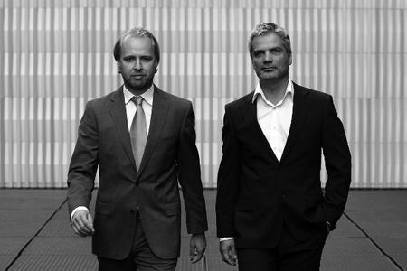 A.Sorg (li.) und S.Thalhammer