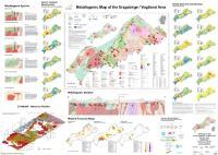 Neue Metallogenetische Karte Erzgebirge und Vogtland