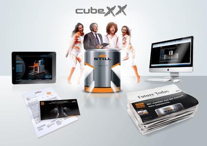 Die Kampagne rund um den STILL cubeXX zieht alle Register des modernen Crossmedia / Foto: STILL GmbH