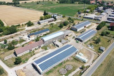 Remda, Germany Reference Project - a 2MWp commercial PV rooftop project