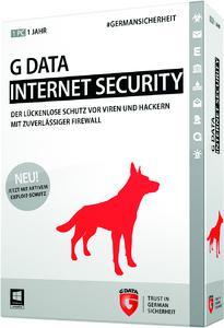 G DATA INTERNET SECURITY sorgt zuverlässig für die Sicherheit des PCs und der persönlichen Daten.