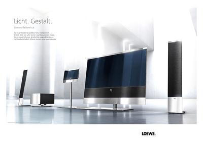 licht gestalt loewe technologies gmbh pressemitteilung. Black Bedroom Furniture Sets. Home Design Ideas