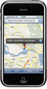 CRM App für die aktuelle iPhone-Version