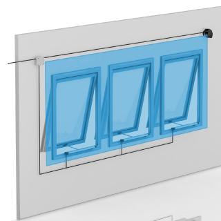 LZR-I100 Laserscanner: Großflächige Absicherung über einen Lichtvorhang / Fotos: GEZE GmbH