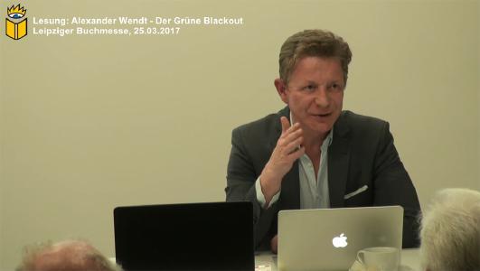 Alexander Wendt stellte sein Buch Der grüne Blackout vor (Foto bei XPUB | Michael John)