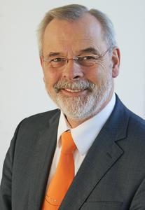 Peter Kazander, Managing Director of EUROEXPO Messe- und Kongress-GmbH in Munich and Director of LogiMAT 2016