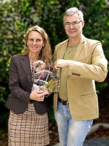 Dr. Christine Lötters und Michael Pieck