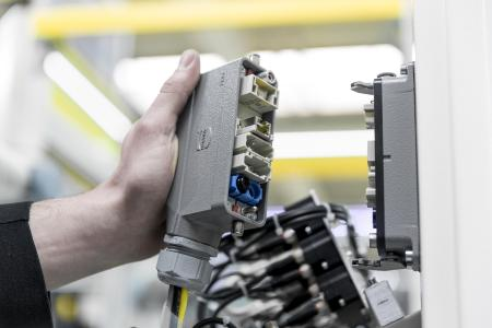Han-Modular® im Einsatz: Der Han-Modular® ist der Marktstandard für modulare Steckverbinder