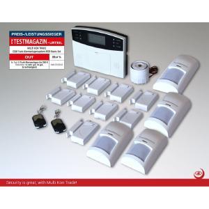 multi kon trade m2b gsm set 4 alarmanlagensystem ist preis leistungs testsieger koneya gmbh. Black Bedroom Furniture Sets. Home Design Ideas