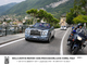 Italian Carabinieri support Rolls-Royce procession on Lake Como