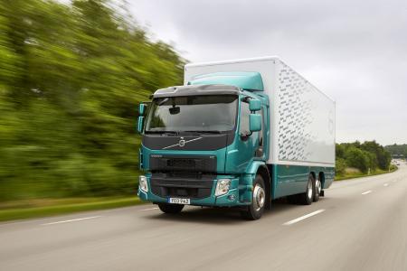 Der Volvo FE 350 ist für Gesamtzuggewichte (GZG) von bis zu 44 Tonnen konzipiert