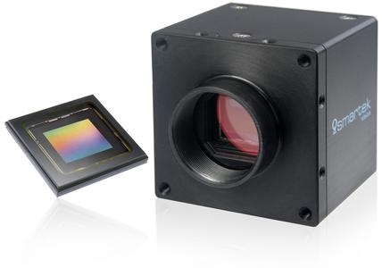 New SMARTEK Vision GCP cameras with the next generation Sony Pregius sensors for production automation and monitoring