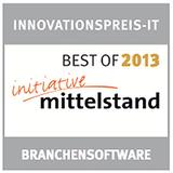 IWM FinanzOffice mit dem Innovationspreis-IT 2013