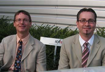 Links: Joachim Vogt, Rechts: René Pamer