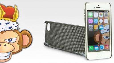 Epic Monkey präsentiert passgenaues Carbon-Schutzhülle für das iPhone 5 und 5S