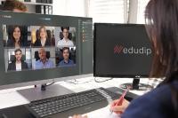 Die neue Meeting-Funktion ermöglicht Online-Meetings mit bis zu 25 Meeting-Teilnehmern schnell, einfach und sicher.
