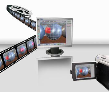 Mit ALLCapture werden Bildschirmaktivitäten in Echtzeit aufgenommen und lassen sich anschließend zu professionellen Präsentationen verarbeiten