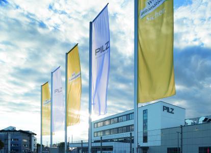 Am Stammsitz in Ostfildern setzt Pilz die intelligente Produktion im Sinne von Industrie 4.0 um