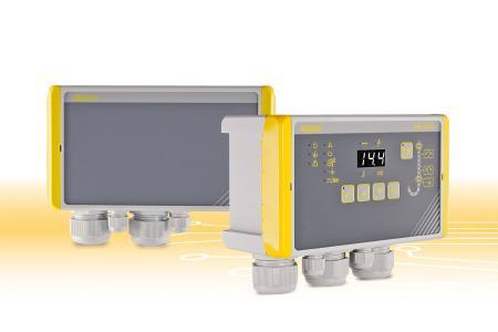 Das neue modulare Konzept der bewährten Magnetventilsteuerung HE 5731 von HESCH ermöglicht Anwendern die flexible Installation und optimale Handhabung der Bedieneinheit