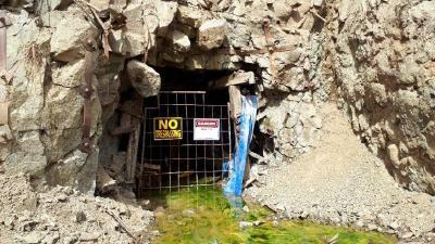 Photo of Brett Mine portal
