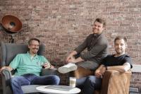 Die neuen Führungskräfte Michael Göttges, Patrick Dörfler und Daniel Marx